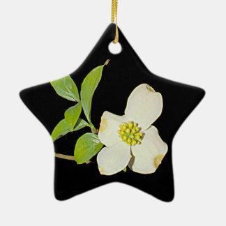 Virginia Dogwood Ceramic Ornament