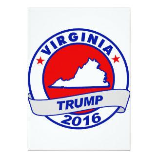"""Virginia Donald Trump 2016.png Invitación 5"""" X 7"""""""