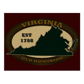 Virginia Est. 1788 Postales