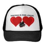 Virginia está para los amantes gorros