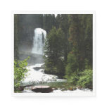 Virginia Falls at Glacier National Park Napkin