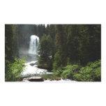 Virginia Falls at Glacier National Park Rectangular Sticker