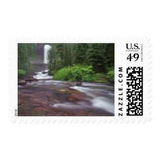 Virginia Falls in Glacier National Park in Stamp