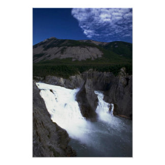 Virginia Falls on the Nahanni River, NWT, Canada Poster
