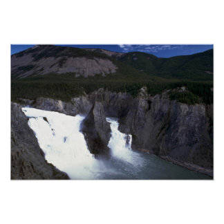 Virginia Falls on the Nahanni River, NWT, Canada Print