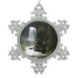 Virginia Falls Snowflake Pewter Christmas Ornament