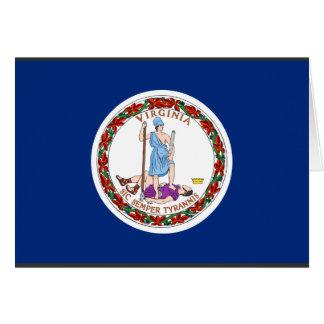 Virginia Flag Card