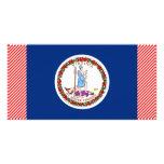 Virginia Flag Custom Photo Card