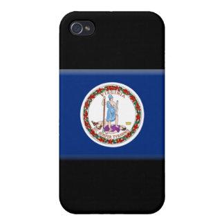 Virginia Flag  iPhone 4/4S Cases
