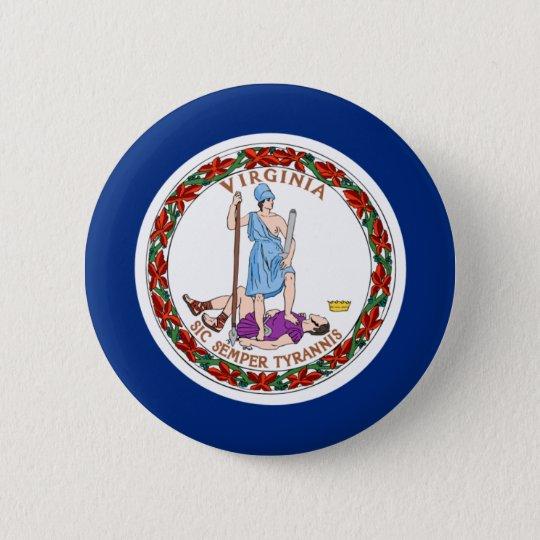 Virginia Flag Pinback Button