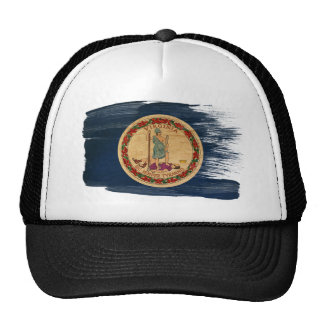 Virginia Flag Trucker Hat