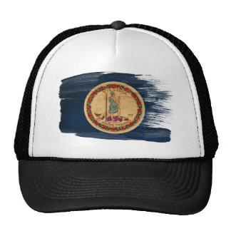 Virginia Flag Trucker Hat
