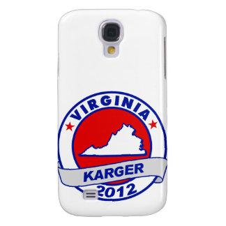 Virginia Fred Karger Samsung Galaxy S4 Case