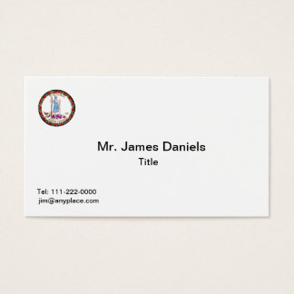 Virginia Great Seal Business Card Template