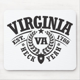 Virginia, Heck Yeah, Est. 1788 Mouse Pad