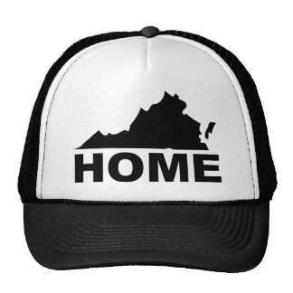 Virginia Home Away From State Ball Cap Hat