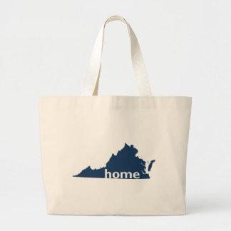 Virginia Home Jumbo Tote Bag