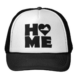Virginia Home Heart State Ball Cap Trucker Hat