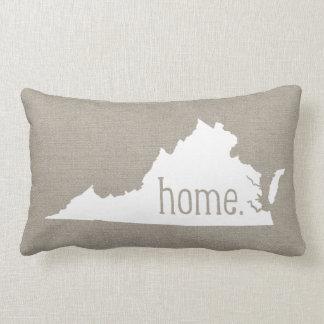 Virginia Home State Throw Pillow