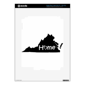 Virginia iPad 3 Decals