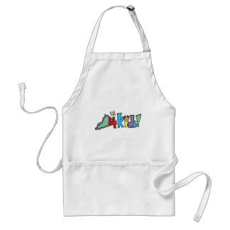 Virginia is for Kids apron
