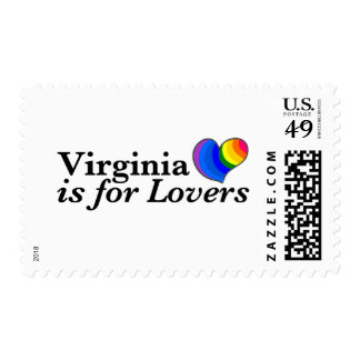 Virginia is for Lovers Stamp