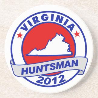 Virginia Jon Huntsman Beverage Coaster