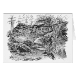 Virginia Kendall Ledges Trail (CVNP) by Kelli Swan Card