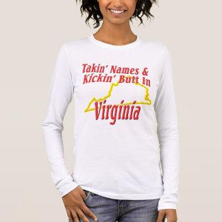 Virginia - Kickin' Butt Long Sleeve T-Shirt