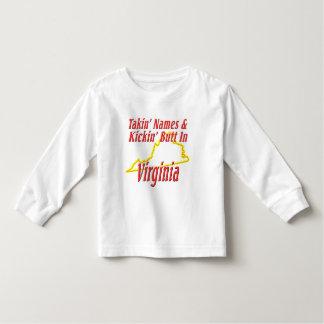 Virginia - Kickin' Butt Toddler T-shirt