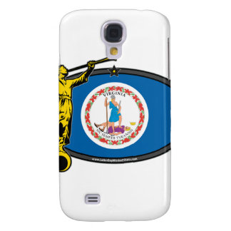 Virginia LDS Mission Oval no Label Angel Moroni Galaxy S4 Covers