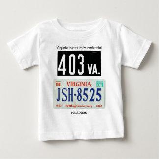 Virginia license plate centennial baby T-Shirt
