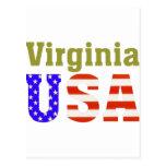 ¡Virginia los E.E.U.U.! Postales