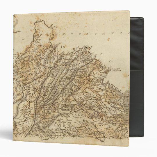 Virginia Map by Arrowsmith Binder