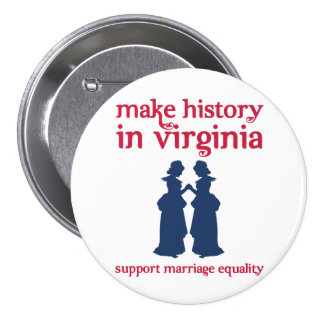 Virginia Marriage Equality Buttons