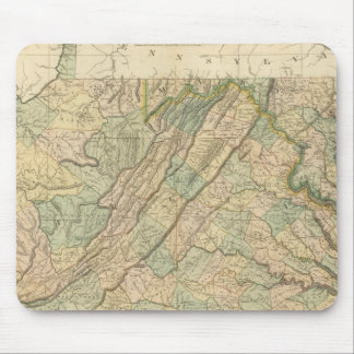 Virginia, Maryland, Delware Mouse Pad