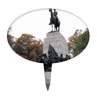 Virginia Memorial at Gettysburg NMP Cake Topper