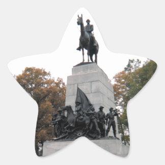 Virginia Memorial at Gettysburg NMP Star Sticker