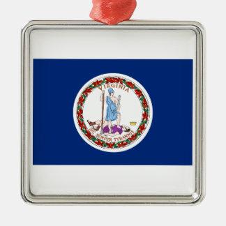 Virginia Metal Ornament