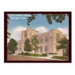 Virginia Military Institute del vintage Postales