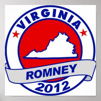 Virginia Mitt Romney Poster