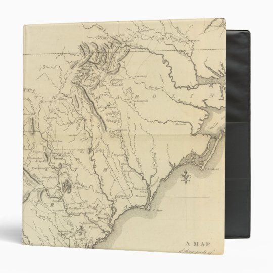 Virginia, North Carolina, South Carolina 2 3 Ring Binder