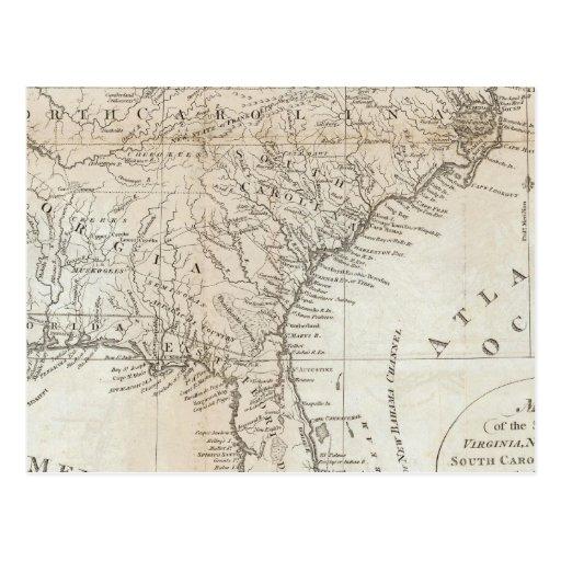 Virginia, North Carolina, South Carolina Postcards