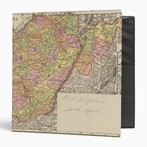 "Virginia Occidental Carpeta 1 1/2"""