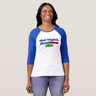 Virginia Occidental - casi cielo - camiseta de las