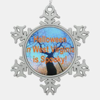 Virginia Occidental fantasmagórica Halloween Adorno