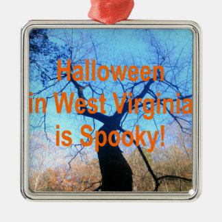 Virginia Occidental fantasmagórica Halloween Adornos De Navidad