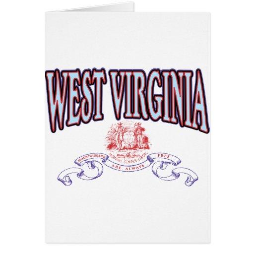 Virginia Occidental Felicitación