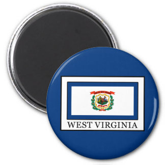 Virginia Occidental Imán Redondo 5 Cm