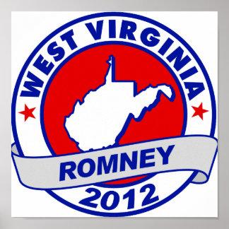 Virginia Occidental Mitt Romney Posters
